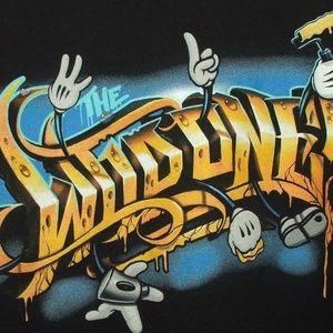 4/$25 The Wild Ones Men's M Black Cotton T Shirt